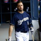 In July, the Brewers slugger agreed to a deal with MLB that suspended him for 65 games, the remainder of the 2013 season. Braun admitted he had used performance-enhancing drugs dating to his 2011 MVP season. He tested positive in 2011, but avoided a suspension at the time by successfully impugning the handler of his positive sample.