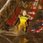 "Being Miss Sprint Cup is a dirty job, but someone has to do it at events like Kurt Busch's ""Busch-Whacked"" Mud Run, which was held at Texas Motor Speedway."