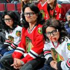 Chicago Blackhawks vs. Buffalo Sabres Oct. 12, 2013 at the United Center in Chicago