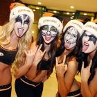 Calling Dr. Love! It was the night before KISSmas at the Honda Center in Anaheim and the Kings were in town...