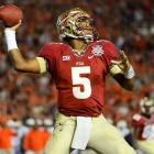 Winston failed to throw a touchdown in the first half, contributing to the first halftime deficit the Seminoles faced all season.