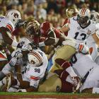 Auburn's defense held Florida State to 148 yards rushing, nearly 100 yards fewer than Auburn's offense totaled.