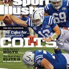 January 13, 2014  |  Andrew Luck and the Indianapolis Colts playing in Super Bowl XLVIII in New York? It could happen, says Andy Benoit in this week's issue of Sports Illustrated. Fresh off an improbable comeback over the Chiefs, the Colts are rolling ? and Luck is the reason why.
