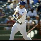 """Another prominent PED user, Palmeiro's 4.4 percent of the vote he earned this year is not good enough to place him back on the ballot in 2015. Famous for his finger-wagging denial of steroid use to Congress in 2005 (""""I have never used steroids. Period."""") and subsequent positive test, Palmeiro was considered one of his era's great power hitters before his revealed steroid use severely damaged his reputation."""
