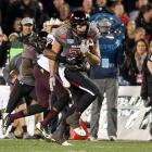 The Red Raiders' first-team All-America tight end caught eight passes for a team-best 112 yards in a 37-23 Holiday Bowl upset of Arizona State. With his big day, the junior set the FBS single-season record for receiving yards by a tight end with 1,352.