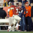 With Auburn leading 24-20 in the fourth quarter of the title game, the Seminoles needed a late spark. Whitfield delivered, racing end zone to end zone for a 100-yard kick return touchdown that reinvigorated Florida State.