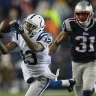 T.Y. Hilton made four catches for 104 yards, but was kept out of the end zone.