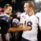 The 15th installment of the storied Manning-Brady rivalry will unfold in Denver Sunday as the Broncos host the Patriots in the AFC Championship Game. This matchup has delivered several memorable moments over the years (the Colts' record comeback in the AFC title game in 2007; New England's rally on <italics>Monday Night Footbal</italics> in 2013), but the results have often fallen in Brady's favor. The New England QB is 10-4 against Manning since their first matchup in September 2001.