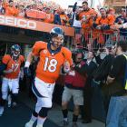 When Peyton Manning took the field, it marked his first AFC Championship game with Denver, and the Broncos first since 2006.