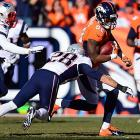 Demaryius Thomas had a game-high 134 yards and scored a touchdown.
