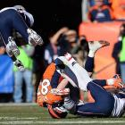 Wes Welker helped make sure the Patriots fell a win shy of the Super Bowl for a second consecutive year.