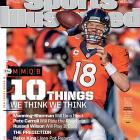 In advance of Super Bowl XLVIII, Peyton Manning and the Broncos appear on one of Sports Illustrated's national covers this week.