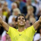 This was easily the highest-quality match of the four they played in 2013. After a strong start by Federer, Nadal got his first break to win the second set and broke early in the third to seize control. Federer saved four match points before Nadal clinched it. <bold><italics>Nadal leads series 21-10.</italics></bold>