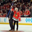 Chicago Blackhawks vs. Boston Bruins Jan. 19, 2014 at the United Center in Chicago