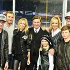 Wayne Gretzky and his family were among the luminaries in attendance. After his landmark trade to the Kings in 1988, the Great One envisioned an outdoor game being played in LA some day. The Dodger Stadium event also marked his public return to the NHL spotlight after a lengthy dispute over pay that he was owed to him from his years as coach of the Phoenix Coyotes.