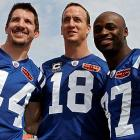 Joining Manning in Super Bowl XLIV were some of the same teammates from three years prior, including Dallas Clark and Reggie Wayne.