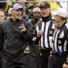 Jim Schwartz opted for a controversial fake field goal in a Week 11 loss to the Steelers. With a 27-23 lead, Schwartz tried a fake FG on fourth-and-five early in the fourth quarter. The Lions were unsuccessful and the Steelers won the game 37-27. Little did Schwartz know, the Lions would only win one more game for the remainder of the season. The fake FG seemed to completely demoralize the Lions, who went 1-6 over their final seven games -- leading to his dismissal.