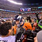 Peyton Manning says he has no plans to retire on the heels of the loss.