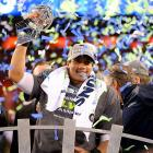In winning the first Super Bowl title in franchise history, the Seahawks joined the 1979 NBA Supersonics as the only champions in a major team sports in the city's history.