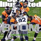 "After dropping the boom on Peyton Manning and the Denver Broncos in Super Bowl XLVIII, Seattle Seahawks defenders Michael Bennett and Brandon Mebane appear on the cover of Sports Illustrated to commemorate Seattle's first NFL title. ""This was Seattle's first championship since they joined the league as an expansion franchise in 1976,"" writes senior writer S.L. Price in this week's cover story. ""Before their run to the Super Bowl in 2006 [an XL loss to the Steelers], they had gone a record 21 years without a playoff win, and until this season always seemed a step behind their rivals in San Francisco. But the unique identity created in 2010 by owner Paul Allen, GM John Schneider and coach Pete Carroll ? brainy, upbeat and tough -- proved perfect for transforming unheralded talent into a smart and singularly fierce outfit."""