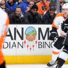 Los Angeles Kings vs. Philadelphia Flyers Feb. 1, 2014 at Staples Center in Los Angeles