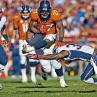 Moreno has had an up-and-down five-year stay in Denver, capped by a career-best 1,038 rushing yards and 10 touchdowns this past season. But he increasingly shared touches in 2013 with fellow Broncos running back Montee Ball, who the team drafted in the second round of the 2013 NFL draft. With Ball emerging as a potential No. 1 running back, Moreno is likely to be playing elsewhere in 2014.