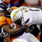 The former Charger is one of several key Broncos scheduled to hit free agency this offseason. Phillips started 12 games for Denver and led the team with 10 sacks. However, Phillips will turn 33 this May, so age will be a concern to potential suitors.