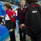 """Figure skating is an expressive sport and Mr. Abbott's expression pretty much sums up his performance in Sochi. """"I think I needed to work out the rust, shake out the demons,"""" he explained."""