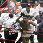 """""""I shook up the world!"""" Clay proclaimed, as he gestured over the ropes at the assembled press corps, virtually every member of which had predicted a Liston victory. He was right, of course -- and over the next decades, as Muhammad Ali, he would continue to it shake up, like no one before or since."""