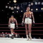 """Already in the opening rounds, it was clear that the challenger -- who had been declared """"terrified"""" during the weigh-in -- was in full control of both himself and of the fight. Liston, meanwhile, was obviously frustrated."""