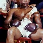 A champion beaten. An era over. Cut, battered and humiliated, Liston stayed on his stool when the bell rang to start the seventh round. He would later claim that his left shoulder was injured and that he couldn't continue because of that, but the truth was clear on his face.