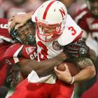 Clowney sacks Nebraska quarterback Taylor Martinez during the Capital One Bowl.