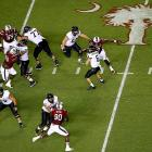 Clowney sacks Austyn Carta-Samuels of Vanderbilt.