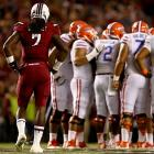 Florida huddles to try to devise a plan for stopping the one-man wrecking crew known as Clowney.
