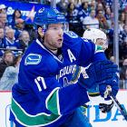 """Reports during the Olympic break suggested that the longtime Canuck was looking for a ticket out of Vancouver, but Kesler has denied the rumors, saying, """"I am a Canuck and I am happy to be here."""" Still, there is no question that teams looking for a versatile, two-way center would be happy to take on the two-time Olympian and one-time 40-goal scorer. The 29-year-old still has two years left on his contract, at $5 million per year, and a no-trade clause, which he insists he has not waived, but with the cap expected to rise to $71 million next season, a handful of teams could have some room to fit Kesler into longer term plans. -- <italics>Sarah Kwak</italics>"""