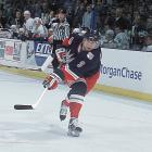 """He's a constant threat,"" Sather said of Bure in March 2002 after the Rangers' GM had acquired the prolific winger from the Panthers for blueliners Igor Ulanov and Filip Novak, and a parcel of draft picks. ""He's someone who can score any time he gets the puck on his stick. He's an artist. He's a superstar."" Alas, Sather was talking about the old Russian Rocket. The 31-year-old who showed up in New York was a brittle shadow of his former self, albeit one with a $10 million-per-year deal. Bure, who had scored more than 50 goals in a season five times from 1992-93 to 2000-01, played just 51 games -- and scored just 31 goals -- for the Rangers. The club missed the playoffs in both his seasons in New York. In September 2003, Bure was declared medically unable to continue playing due to a chronic knee injury. He never skated in the NHL again. <bold>Notable Rangers during Bure's tenure:</bold> Mark Messier, Eric Lindros, Brian Leetch, Mike Richter, Theo Fleury"