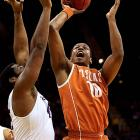 Leading Scorer: Jonathan Holmes (13.0 ppg., pictured) Leading Rebounder: Cameron Ridley (8.1 rpg.) Leading Passer: Isaiah Taylor (3.9 apg.) Bad Losses: @ Texas Tech Good Wins: @ North Carolina, Oklahoma State, Baylor (twice), Kansas, Iowa State