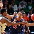 Leading Scorer: Malcolm Brogdon (12.6 ppg., pictured) Leading Rebounder: Akil Mitchell (6.9 rpg.) Leading Passer: London Perrantes (3.8 apg.) Bad Losses: Tennessee, Green Bay Good Wins: UNC, Syracuse
