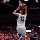 Leading Scorer: Nick Johnson (16.2 ppg., pictured) Leading Rebounder: Aaron Gordon (7.8 rpg.) Leading Passer: T.J. McConnell (5.5 apg.) Bad Losses: None -- Worst Loss was California Good Wins: Duke, Michigan, San Diego State