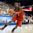 Leading Scorer: Russ Smith -- (18.3 ppg., pictured) Leading Rebounder: Montrezl Harrell (8.2 rpg.) Leading Passer: Russ Smith (4.7 apg.) Bad Losses: None Good Wins: Connecticut (thrice), @ Cincinnati, SMU (twice)