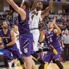 Leading Scorer: Roy Devyn Marble (17.3 ppg., pictured) Leading Rebounder: Aaron White (6.7 rpg.) Leading Passer: Mike Gesell (3.9 apg.) Bad Losses: Indiana, Northwestern Good Wins: Xavier, Ohio State, Nebraska, Michigan