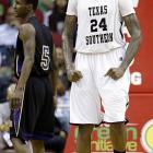 Leading Scorer: Aaric Murray (21.2 ppg., pictured) Leading Rebounder: Aaric Murray (7.7 rpg.) Leading Passer: Madarious Gibbs (5.2 apg.) Bad Losses: Jackson State (2), Prairie View A&M Good Wins: Temple, Southern