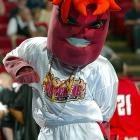 This is more of a devil than Duke's Blue Devil. Spicy. Frantic. Cayenne the Ragin' Cajun means business, and he's here for your soul.
