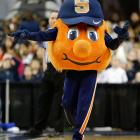 An NCAA tournament just doesn't feel right without Otto. This little round mound of joy has the benefit of A) looking like a basketball B) staying super small and compact, so the costume can fit into overhead compartments and C) being a gosh-darned orange wearing sweatpants. <bold>Just missed the cut:</bold> George (George Washington), Brutus (Ohio State), Albert and Alberta Gator (Florida), Boss the Terrier (Wofford), Rameses (North Carolina), Clawed the Eagle (American)