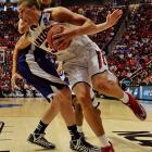 Kaleb Tarczewski also had five blocks for the Wildcats, to go along with 10 points and four rebounds.