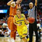 Spike Albrecht and the Wolverines are another step closer to possibly making a repeat appearance in the national title game. Michigan, of course, lost to Louisville in last year's final.