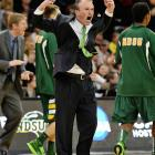 North Dakota coach Saul Philips got his team past Oklahoma in the second round but couldn't get the glass slipper to fit on Saturday.
