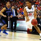 Malcolm Brogdon and top-seeded Virginia shot 56 percent to reach the Sweet 16 for the first time in nearly two decades. The Cavaliers -- not traditional powers Duke and North Carolina or league newcomer Syracuse - is the Atlantic Coast Conference's only team to make the round of 16.