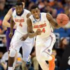 <italics> At this time of year, fans of teams in the Sweet 16 are giddy with excitement, and rightfully so. But what they might not see through those rose-colored glasses are some of the flaws in their team that might prove troublesome. Here's a contrarian's view of why your team might not win the national title, starting with Florida.</italics> The Gators are the favorite to cut down the nets in Dallas, and looked unstoppable in their dismantling of Pittsburgh in the Round of 32. UCLA, however, presents a unique challenge. The Bruins get up and down the floor with the best of them in the country, and if they can dictate pace, they can upend a Gators squad that ranked 320th in adjusted tempo, according to KenPom.