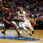 It's certainly impressive that the Huskies made it to the Sweet 16 as a No. 7 seed, but Villanova wasn't your typical No. 2 seed, either. Connecticut's defense is strong, but it still has the same problem offensively that it had at the beginning of the tournament. What does it do if and when Shabazz Napier has a bad game? Against any team with the chops to still be alive in the tourney, the Huskies probably lose.